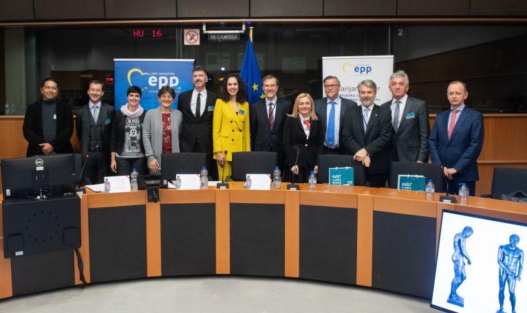 Apoksiomen i Lošinj u Europskom parlamentu