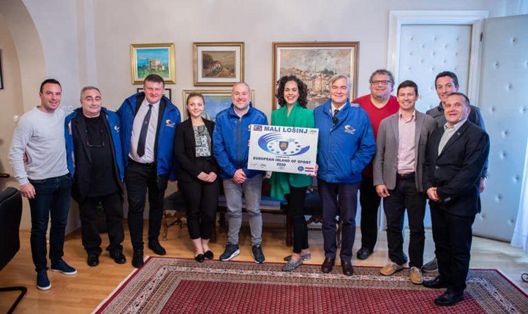 Lošinj osvojio titulu Europskog otoka sporta za 2020. godinu